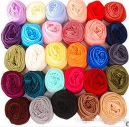 Wholesale Spring Color Scarves - Spring & Winter Korean Style Candy Color Scarf Lady Fashional Long Tippet Girls Casual Transparent Wraps Girl Ethereal Cappa BY0000