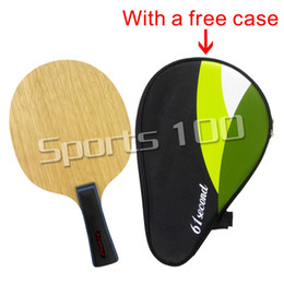 Wholesale Super 55 - Wholesale- 61second 3003 Super Light Table Tennis   PingPong Blade (FL 55-65g   CS 63-74g) with a free full case