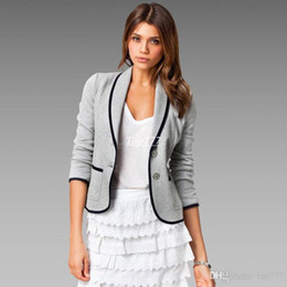 Wholesale Buy Matches - Rush to buy women fashion jacket Plus Size S-6XL easy to match Tops and long sleeve casual coat 1016 Fall Hot sale L756