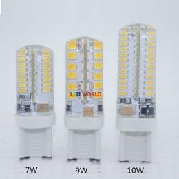Wholesale Beaming Bubble - 1pcs G9 LED Bulb 220V 6w 7W 9W 10w 15w LED Lamp G9 SMD 2835 3014 2015 CREE LED light 360 degree Beam Angle led spotlight lamps A3
