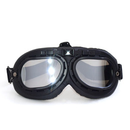 Wholesale Vintage Dustproof - 2017 New Black Vintage Motorcycle Goggles Dustproof ATV Adventure Motorbike Desert Riding Glasses Oculos Antiparras Gafas