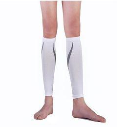 Wholesale Pressure Arm - Wholesale- Hot Compression Sport Running Socks Crural Sheath Pressure Socks Leggings Running Socks Leg Protection Outdoor Basketball Foot