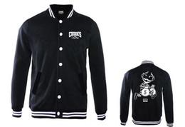 Wholesale Cardigans For Men Sale - Crooks and Castles Jackets Men's winter Coats casual sport new style outerwear for sale hiphop jacket for men Men's Clothing