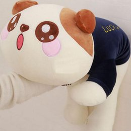 Wholesale Giant Stuff Dog Toys - cuddly soft cartoon cat plush doll pillow giant stuffed animal cats toy baby gift christmas gift 75cm 100cm