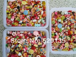 Wholesale Min order is mix order Mix Cute Food Resin Cabochon for Phone Deco DIY