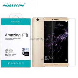 "Wholesale Nillkin Screen Protector - Wholesale- Huawei Honor Note 8 (6.6"") Nillkin H+ Pro 2.5D Round Edge 0.2 mm Tempered Glass Screen Protector for Honor Note8 Glass Film"