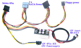 Wholesale Atx Supply - 180W 12V DC ITX PC ATX PSU Supplie mini Car Auto Mirco Pico ATOM HTPC 1U rackmount PC ATX 24Pin switch power supply