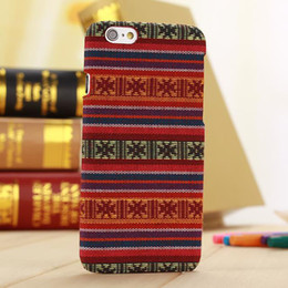 Wholesale Aztec Phone Case For Iphone - Slim Vintage Tribal Style PC Hard Case Back Cover for Apple iPhone 6 Plus 5.5 inches Retro Aztec Tribe Skin Phone Shell Bags