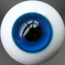 Wholesale Dollfie Dark - Wholesale-[wamami] 44# 10mm Dark Blue & Black Pupil For BJD AOD DOD Doll Dollfie Glass Eyes Outfit