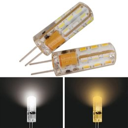 Wholesale G4 6w Led - Dimmable g4 led Lamp High Power SMD3014 6W 7W Corn bulbs 12V 220V Replace 10w 30W halogen lamp 360 Beam Angle chandeliers LED Bulb lamp