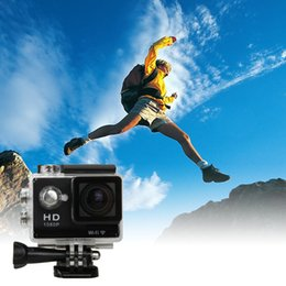 "Wholesale Professional Video Card - 1080P Full HD Sports DV Video Cameras 30M Waterproof Action WIFI Wireless Camcorders 2"" inch LCD Recorder"