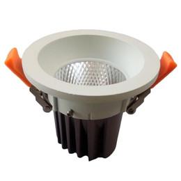 Foco de lúmen mais alto on-line-Venda quente Epistar 12 W Alto Lumen COB LED Downlight Alta PF Recesso Lâmpadas de Teto AC 110-240 v Holofotes Para Decoração de Casa