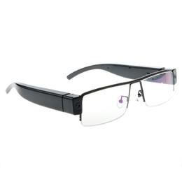 Wholesale Hd Spy Sport Glasses Camera - HD 1920x1080P Glasses Spy Hidden Sport Camera DVR Video Recorder Eyewear DV Cam