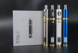 Wholesale E Cig Charges - Mini TVR30 huge vapor e-cig airflow control electronic cigarettes with 2200mah 30W out 5V battery micro usb charging E-cigarette Kits