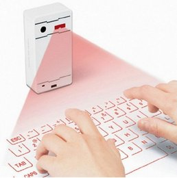 Wholesale Bluetooth Keyboard Best - 2015 New F1 Virtual laser Keyboard portable projected bluetooth keyboard suits for IOS Android Windows AAA quality best price