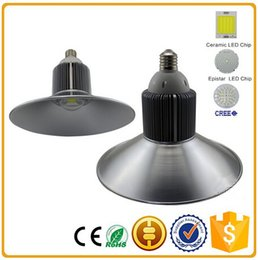Wholesale Fitting Room Designs - Newest Patent Design Led E40 High Bay Light Fitting Popular high power industrial lighting fixture 30w 50w 80w 100w 120w Bridgelux