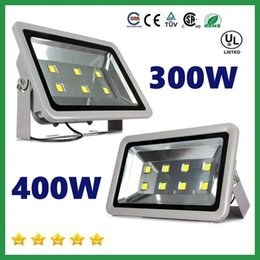 Wholesale Outdoor Floodlight Fixtures - Free Shipping 300W 400W led flood light outdoor lamp AC 110-277V led canopy lights waterproof led floodlights fixture lamp+3 years Warranty