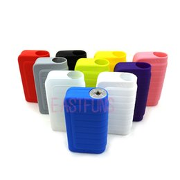 Wholesale Electronic Cigarette Silicon Cover - IPV4 IPV4s Protective Sleeve Cover Silicon Case Colorful Silicone Box Case Bag Skin for IPV 4s Case Electronic Cigarette Mod Cover Case