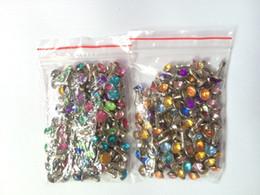 Wholesale Diamond Dust Plugs - Wholesale-500pcs lot Bling Diamond Rhinestone Crystal Colorful Anti Earphone Dust Plug For iPhone6 iPhone5 5S For Samsung Galaxy S6 S5 Etc