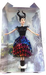 Wholesale New Toys For Girls - 30%OFF New Arrival 33cm Dark Beauty Maleficent Doll New Toy for Children christmas gift.Dolls.hot toys