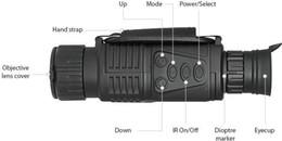 Wholesale Zoom Digital Camera - Infrared digital Night vision monocular scope 5x40 for 200Meter,zoom 5X , IR, 5MP digital camera video in CCD!! DHL free!