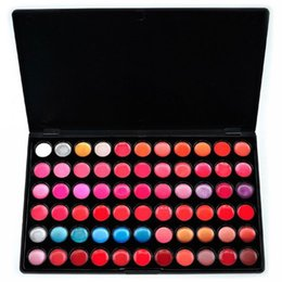 Wholesale Pro Makeup 66 Color - 66 Color Pro Lip Gloss Lipstick Balm Cosmetic Lip Smacker Lip Balm Moisturizing Lip Makeup Palette wholesale order<$18no track