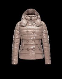 Wholesale Woman Goose Down Coat Sale - Sale 2017 Winter Jacket Women Warm Cape Collar Down-Jacket Red Coat Zipper Full Sleeve Outerwear Women Clothing