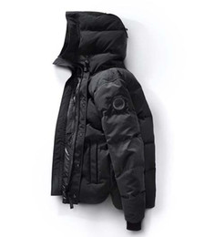 Wholesale Canada Mens Jacket - New Canada Winter Down Parka Macmillans Men Brand Designer Hoodies Man Parkas Jackets Warm Outwear Mens Outdoor Cool Coats High quality