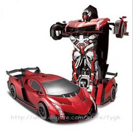 Deformasyon robot uzaktan kumanda araba elektrikli spor araba King Kong oyuncak araba çocuk oyuncak modeli nereden çocuk elektrikli araba oyuncak tedarikçiler