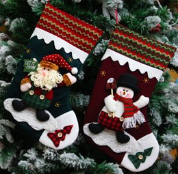 Wholesale Craft Christmas Stockings - New wool Christmas stockings, Christmas crafts, export wool, Christmas stockings, festival celebrations
