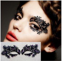Wholesale Carbon Papers - Art eyelashes using carbon fiber cloth paper-cut eye patch eyeliner China art False eyelash