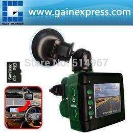 "Wholesale Sd Memory Card 2g - car dvr 2"" TFT LCD Digital DVR Audio Video Car Vehicle Monitor Black Box Camera Recording USB + 2G SD memory card"