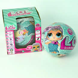 Wholesale Cheap Dresses For Kids - LOL SURPRISE DOLL Series 2 Dress Up Toys Kids Gifts With Retail Box Blind Mystery Ball Online Shop for Cheap