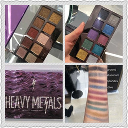 Wholesale Newest Items - Bestselling item! 2017 NEWEST makeup decay heavy metals Christmas limited-edition 20 colors eyeshadow palette free shipping