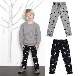 0f590ac40506ec Discount animal print pants for kids - wholesale Kids seagulls pattern  Leggings Children boys girls cotton