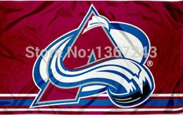 Wholesale Hockey Banner - Colorado Avalanche NHL National Hockey League USA Flag 3X5 ft custom Banner 90x150cm Sport Outdoor HCA2