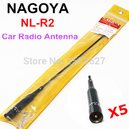 Wholesale Vhf Antenna Pl259 - Wholesale-Free Shipping NAGOYA NL-R2 PL259 Connector Dual Band VHF+UHF High Gain Mobile Radio Antenna Car Radio Aerial For Bus Taxi Car