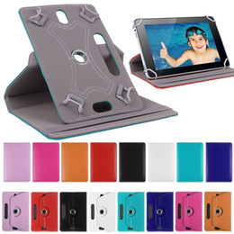 "Wholesale Universal Inch Case Cover - New Tab Case 360 Rotate Leather Protective Stand Case Cover For Universal Tablet PC Case 7"" 8"" 9"" 10"" newsale0019"