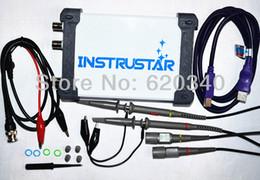 Wholesale Usb Signal Analyzer - 2013 NEW 4 IN 1 Multifunctional PC USB virtual Digital oscilloscope+Spectrum Analyzer+DDS Signal source+Sweep signal generator order<$18no t