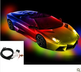 Wholesale Lights For Chassis - Free Shipping,for car led chassis light chassis lamp remote control a variety of modified car flicker decoration lamp order<$18no track