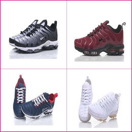 8b8fce80524fb2 Hot Sale Plus TN Men Running Shoes discount cheap dark red grey black all  white deep blue mens sports shoes sneakers