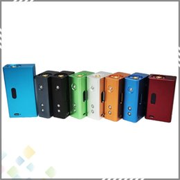 Wholesale Lcd Atomizers - Top Quality Mini DNA 30 Box Mod 30W Hana Mod with LCD Display Variable Wattage fit 510 Atomizer Mini DNA Colorful DHL Free