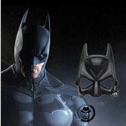Wholesale Hallowen Mask Wholesale - Wholesale-Cosplay Superhero Bat Halloween Man Mask Hallowen Party Accessories League Of Heroes Masks The Dark Knight Helmet High Quality
