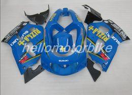 Wholesale 1998 Srad - New ABS fairing kit FOR SUZUKI GSXR 600 750 1996 1997 1998 1999 2000 SRAD fairings GSXR600 GSXR750 96 97 98 99 RIZLA+ blue yellow