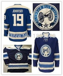 Wholesale Cheap Best Jackets - 2016 New, Cheap New Arrival Ryan Johansen Jersey #19 Wholesale Best Quality Columbus Blue Jackets Ryan Johansen Hockey Jerseys Stitche