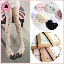 Wholesale Childrens Clothing For Girls - Cat Socks For Kids Girls Sock Kids Sock Best Socks Children Clothes Girl Dress Child Clothing 2015 Summer Pantyhose Childrens Socks C10191