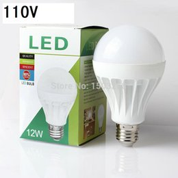 Wholesale E27 Light Bulb Energy Saving - Wholesale High Bright E27 B22 5W 7W 9W 12W 15W 110V LED Bulb 5730 SMD LED Warm Cool White Energy Saving led globe bulb Light Lamp