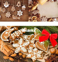 clay decor Promo Codes - 11 pcs lot Hanging Ornament Snowflakes Decor Polymer Clay Drop Pendants Christmas Tree Baubles Decoration Enfeites De Natal Ornaments Set