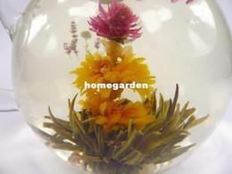 Wholesale Wholesale Oolong Tea - Wholesale-2013 NEW Tea 120 pieces tea blooming tea flower hand make flower tea