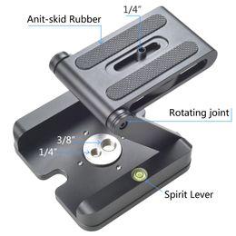 Wholesale Z Flex - Z Type Tilt Tripod Head Flex Folding Z Pan for Canon Nikon Sony DSLR Camera Aluminum Alloy